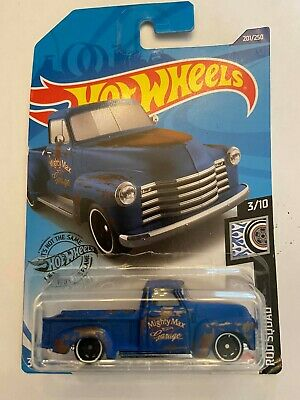 AU2.82 • Buy 2020 HOT WHEELS '52 CHEVY PICKUP TRUCK COLLECTION Blue Rod Squad