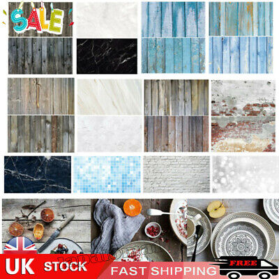 Double Sided Backdrop Paper Instagram Product Food Background Drop Photo UK • 6.83£