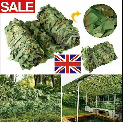 £9.99 • Buy 10*1.5m Army Camouflage Net Camo Netting Camping Shooting Hunting Hide Woodland