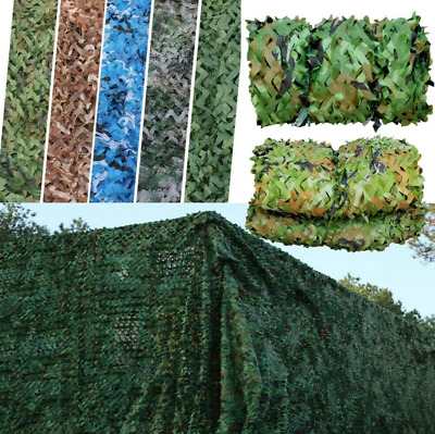 £11.99 • Buy UK Army Camouflage Net Camo Netting Camping Shooting Hunting Hide Woodland 3 Siz