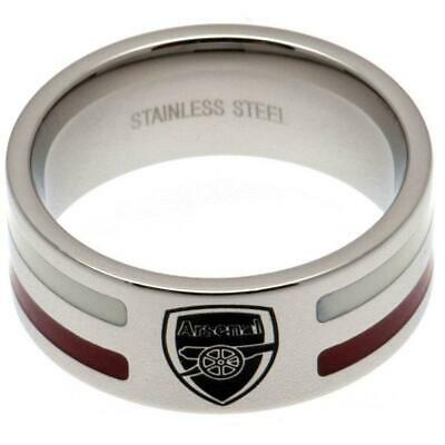 £19.95 • Buy Arsenal FC Colour Stripe Ring Medium Official Licensed Product