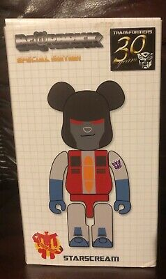 $58.81 • Buy Bearbrick X Transformers.Special Ed.Starscream 200% Mint Con As New