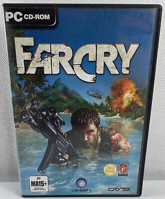 AU10 • Buy FARCRY PC CD-ROM COMPLETE With Manual 5 Discs Included