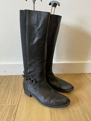 £44.99 • Buy Womens Russell & Bromley Aquatalia Black Leather Boots UK 6.5 39.5