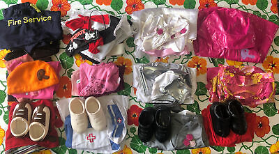 £94.94 • Buy 12 Smoby Rosie & Roby Doll Clothes Outfit Sets And Pairs Of Shoes Job Lot Bundle