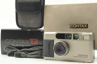 $ CDN1455.77 • Buy [MINT In Box] Contax T2 Titan 35mm Point & Shoot Film Camera From JAPAN