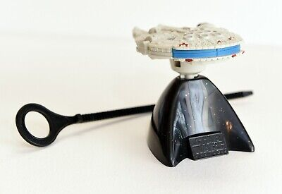 $8 • Buy Taco Bell 1996 Star Wars 4  Millennium Falcon Toy W/stand & Ripcord