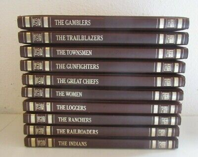 £19.13 • Buy Vintage 1970s Time Life The Old West Set Of 10 Books