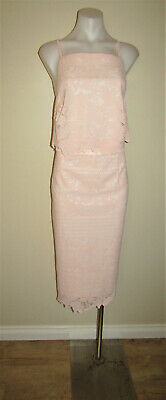 AU6.50 • Buy Asos UK 18 AU 16 Lace Cocktail Evening Wedding Dinner Party Fitted Dress