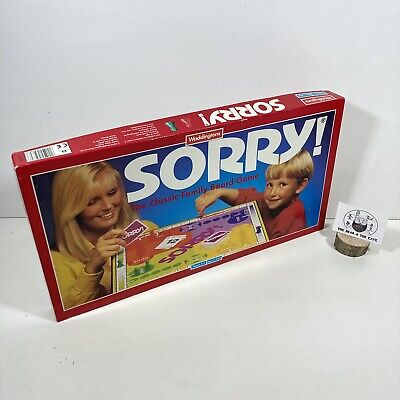 £17.99 • Buy Vintage Waddingtons 1994 Sorry Board Game Great Condition - Complete