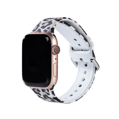 $ CDN7.41 • Buy Leopard Print Watch Band For Apple Watch 654321 For Iwatch Strap 38/40mm 42/44mm