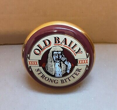£18.99 • Buy Mansfield Brewery Old Baily Ceramic Pump Clip Complete Homebar Mancave Display