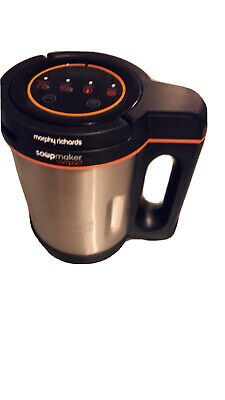 £15 • Buy Morphy Richards 501027 900 W 1 L Compact Stainless Steel Saute And Soup Maker -