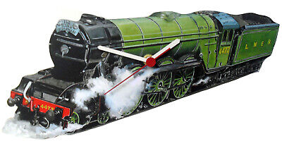 £11.95 • Buy The Flying Scotsman Clock -  The Flying Scotsman Gift -  Steam Trains LS0012-C