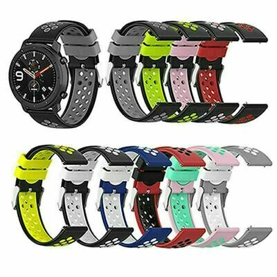 £3.82 • Buy Bracelet Accessories For Samsung/Ticwatch/Huawei/Huami Silicone Band Strap 22mm