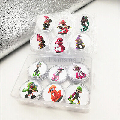 AU27.54 • Buy NEW Splatoon 2 16PCS PVC NFC Tag Game Amiibo Cards Octoling Octopus For Switch