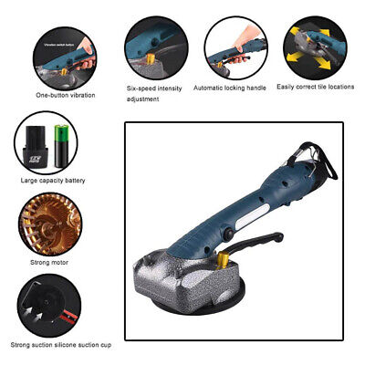 £48.99 • Buy Tile Vibrator Suction Cup Professional Tiling Tool Machine Floor Laying Machine