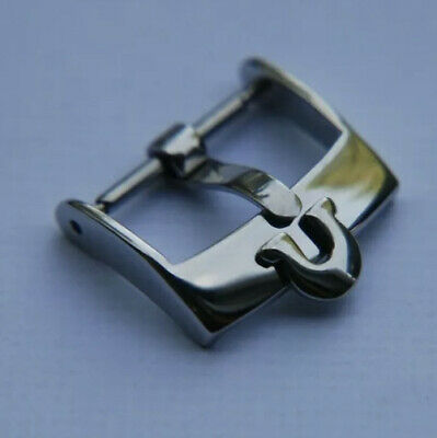 16MM Omega Stainless Steel Watch Strap Pin Buckle  • 11.95£