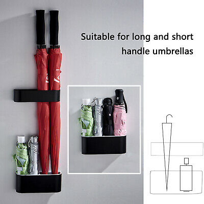 AU30.59 • Buy 2Pcs/Set Wall Mounted Umbrella Stand Holder Storage Rack Home Office Organiser