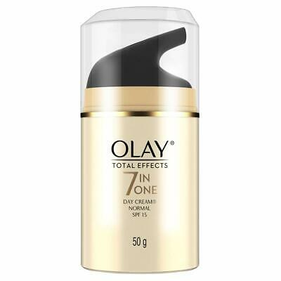 AU31.28 • Buy Olay Day Cream Total Effects 7 In 1, Day Cream Normal SPF 15, 50g