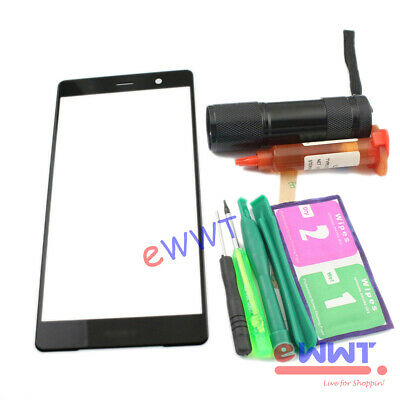 AU9.96 • Buy Replacement Black Outer Glass Lens+Glue For Sony Xperia XZ2 Premium 5.8  ZJGS650