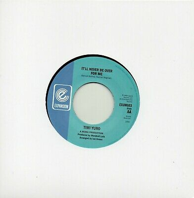 TIMI YURO IT'LL NEVER BE OVER FOR ME /AS LONG AS THERE IS YOU  EXPANSION Re-Iss • 9.99£