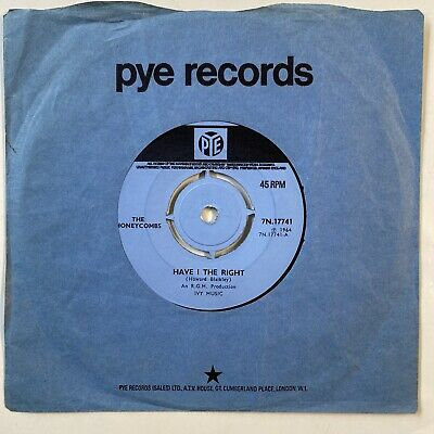 £10 • Buy The Honeycombs - Have I The Right (this Is The Rarer Blue Label) Pye Rgm Meek