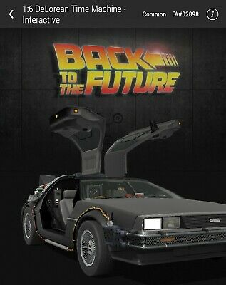 $55 • Buy VeVe NFT - DeLorean Time Machine - Common [SOLD OUT] #02898