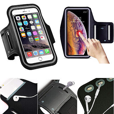 AU6.99 • Buy Black Thin Arm Band Phone Case Holder Bag For OnePlus 9 3T 5T 6T 7T 8T Nord N100