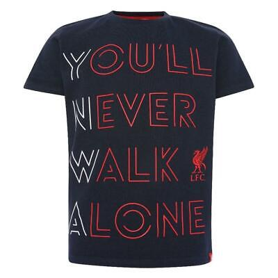 £14.95 • Buy Liverpool FC YNWA T Shirt Junior Navy 7-8 Official Licensed Product