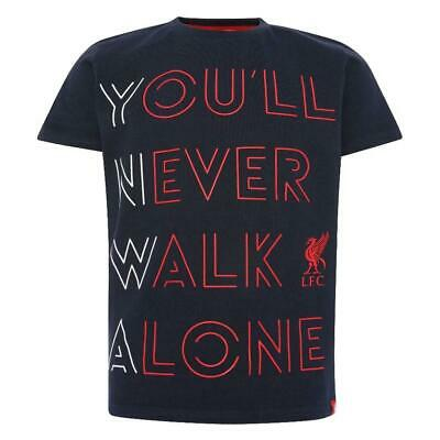 £14.95 • Buy Liverpool FC YNWA T Shirt Junior Navy 9-10 Official Licensed Product