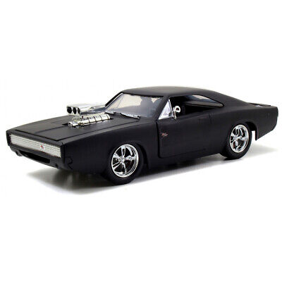 £22.60 • Buy Jada Toys Fast & Furious Die-Cast Dom's Dodge Charger R/T Car Model Scale 1:24