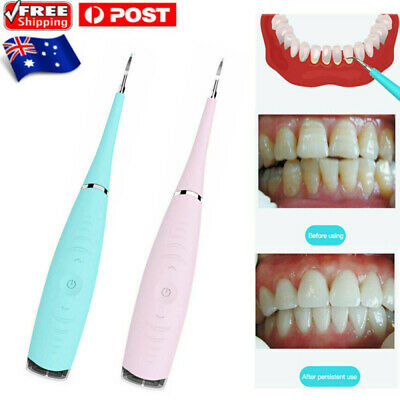 AU11.79 • Buy Tooth Stains Tool Dental Scaler Tartar Calculus Plaque Remover Electric Sonic