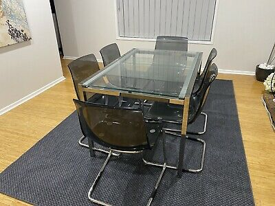 AU100 • Buy Extendable Dining Table And 6 Chairs
