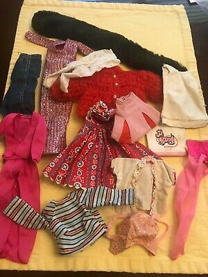 $ CDN12.08 • Buy HUGE LOT Of 14 Vintage BARBIE  & Friends , Clothes Clone Or Unmarked