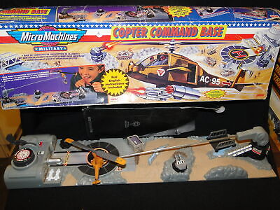 £9.99 • Buy Boxed Vintage Micro Machines Military Copter Chopper Command Base  Playset
