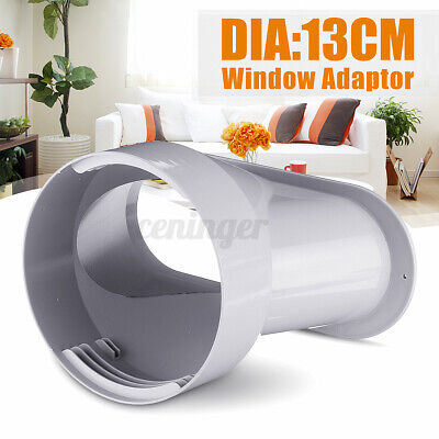 AU18.25 • Buy 5'' Window Adaptor PVC White For Portable Air Conditioner Exhaust Hose NEW