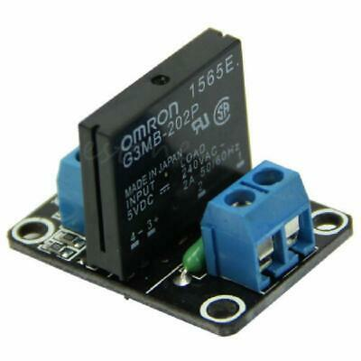 AU4.57 • Buy 5V 1 Channel Solid-State Relay Module High Level Trigger New