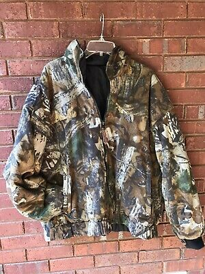 £42.59 • Buy Vintage Realtree Advantage Timber 2 Piece Convertible Jacket XL
