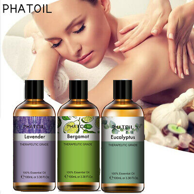 AU10.89 • Buy 2PACK  Essential Oil Aromatherapy Gift Kit 100% Pure Oils Therapeutic Diffuser