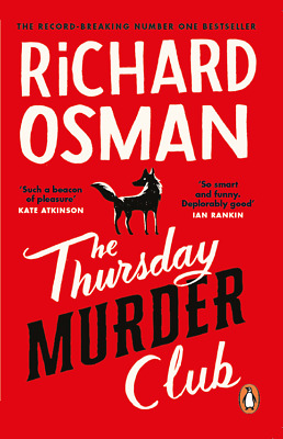 £9.99 • Buy Signed Book - The Thursday Murder Club By Richard Osman First Edition 1st Print