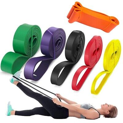 $ CDN11.15 • Buy Pull Up Resistance Bands Assist Exercise Workout Band Set For Fitness Strength /