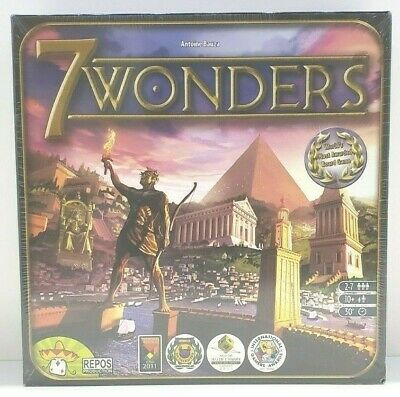 AU38.22 • Buy 7 Wonders Board Strategy Game-Repos Production (2010) New Sealed