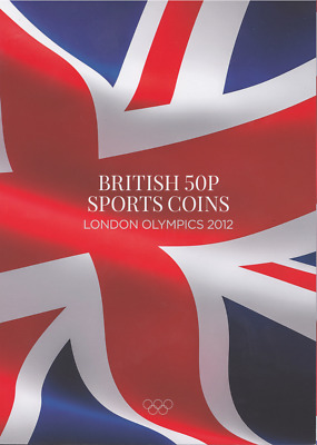 London Olympic 2012 50p Coins Sports Coin Hunt Collectors Album Fifty Pence SU • 9.95£
