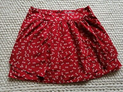 £7.50 • Buy Sweet Vintage Red Polka Dot Mini Skirt With Pockets, From Gap. Hardly Worn.