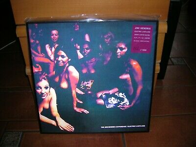 Jimi Hendrix - Electric Ladyland 3d Box 4lp + Cd + Poster Ultrarare Collector !! • 103.18£
