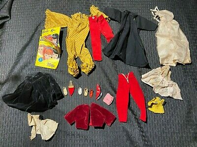 $ CDN15.16 • Buy Vintage Barbie Clothes And Accessories Lot 1960's