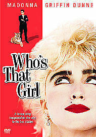 £7.99 • Buy Who's That Girl - Madonna, Griffin Dunne - Used UK R2 DVD