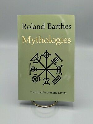 AU11.46 • Buy Mythologies By Roland Barthes (Hill And Wang Paperback • 1972 • Reprint)