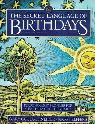 £9.21 • Buy The Secret Language Of Birthdays: Personology Profiles For Each Day Of The Year,